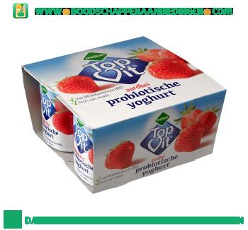 Melkan Probiotische yoghurt aardbei 4-pak aanbieding