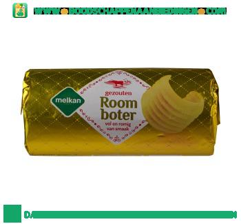 Melkan Roomboter gezouten rol aanbieding