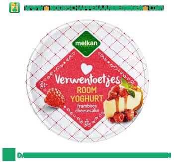 Melkan Roomyoghurt framboos en cheesecake aanbieding