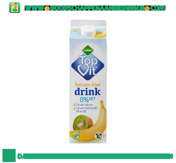 Melkan Topvit banaan-kiwi drink aanbieding