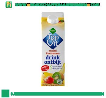 Melkan Topvit drinkontbijt aardbei-kiwi-banaan aanbieding