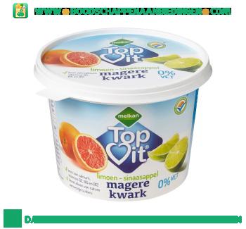 Melkan Topvit kwark limoen sinaasappel aanbieding