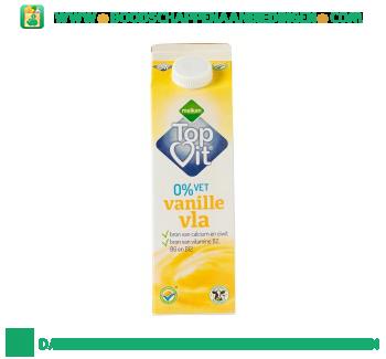 Melkan Topvit vanille vla 0% vet aanbieding
