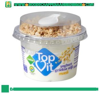 Melkan Topvit yoghurt grieks muesli aanbieding