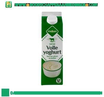 Melkan Volle yoghurt aanbieding