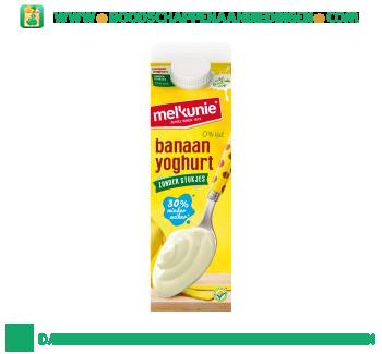 Melkunie Banaanyoghurt aanbieding
