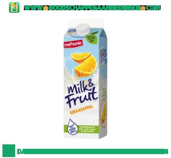 Melkunie Milk & Fruit sinaasappel aanbieding
