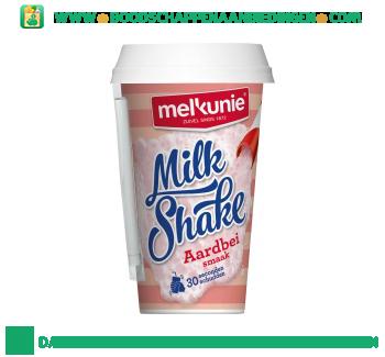 Melkunie Milkshake aardbei aanbieding