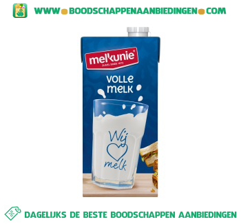 Melkunie Volle melk houdbaar aanbieding