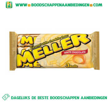 Meller Witte chocolade aanbieding