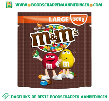 M&M's Choco large aanbieding