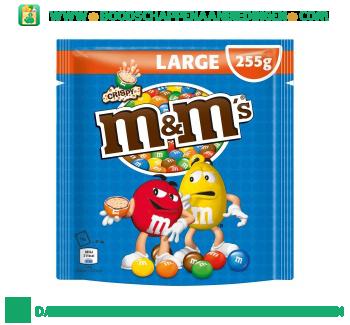 M&M's Crispy large aanbieding