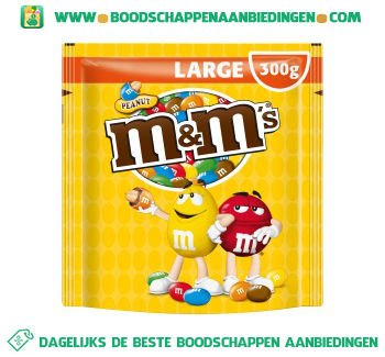 M&M's Pinda large aanbieding