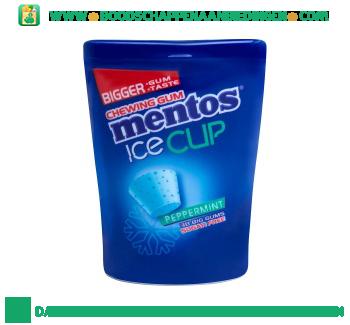 Gum ice cup peppermint aanbieding