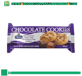 Merba Chocolate cookies aanbieding
