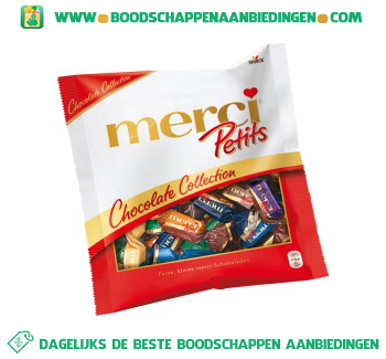 Merci Petits chocolate collection aanbieding