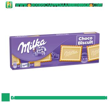 Milka Choco biscuit wit aanbieding
