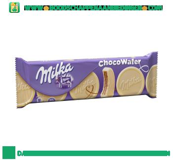 Milka Choco wafel wit aanbieding