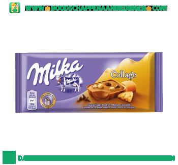 Milka Chocoladereep caramel fudge aanbieding