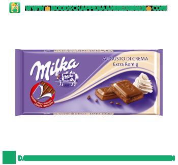 Milka Chocoladereep extra romig aanbieding