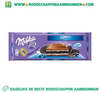 Milka Oreo aanbieding