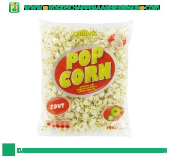 Popcorn zout aanbieding
