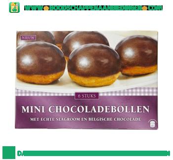 Mini chocoladebollen aanbieding