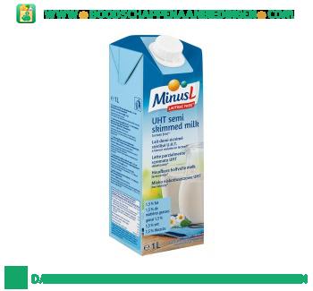 Minus L Halfvolle melk lactosevrij houdbaar aanbieding