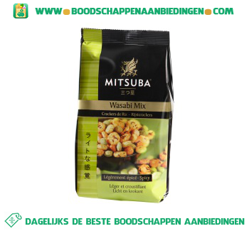 Mitsuba Wasabi mix aanbieding