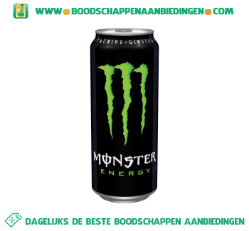 Monster Energy aanbieding