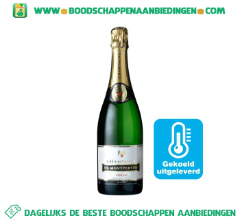 Champagne demi-sec aanbieding