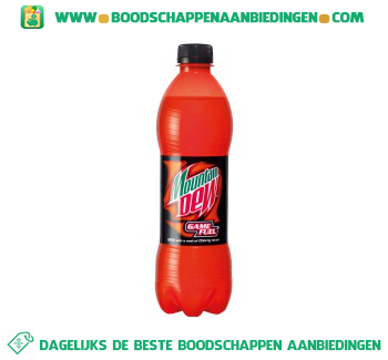 Mountain Dew Game fuel aanbieding