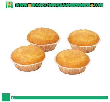 Muffins naturel aanbieding
