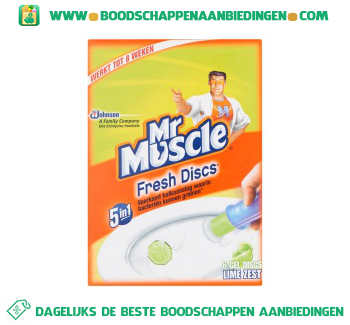 Muscle Fresh discs lime aanbieding