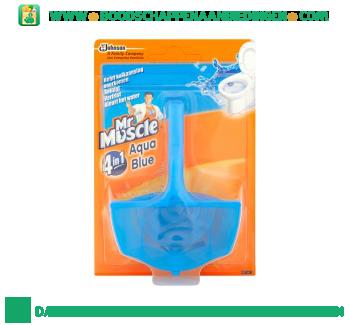 Muscle Toiletpblok aqua blue aanbieding