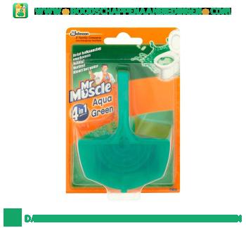 Muscle Toiletpblok aqua green aanbieding