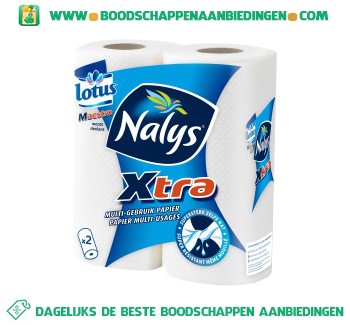 Nalys/Lotus Maestro huishouddoekjes aanbieding
