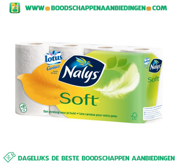 Nalys/Lotus Toiletpapier soft aanbieding