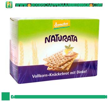 Naturata Knackebrod spelt aanbieding