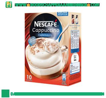 Nescafé Cappuccino cafeïnevrij aanbieding