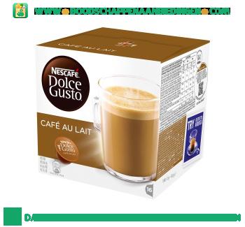 Nescafé Dolce Gusto café au lait aanbieding