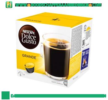Nescafé Dolce Gusto caffè crema grande aanbieding