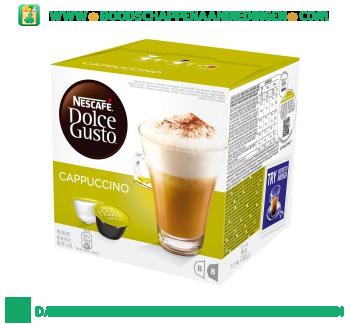 Nescafé Dolce Gusto cappuccino aanbieding