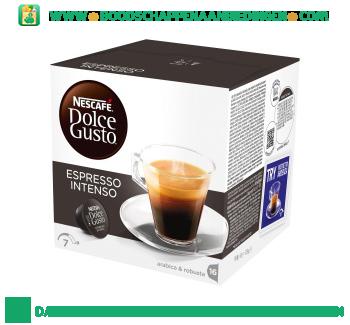 Nescafé Dolce Gusto espresso intenso aanbieding