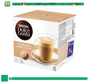 Nescafé Dolce Gusto espresso macchiato aanbieding