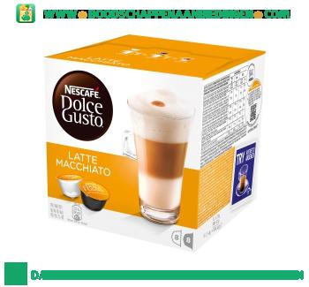 Nescafé Dolce Gusto latte macchiato aanbieding