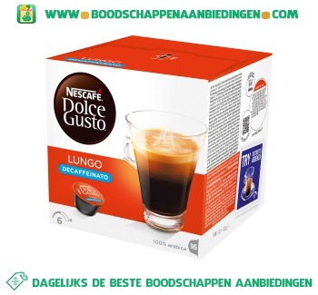 Dolce gusto luno decaf aanbieding