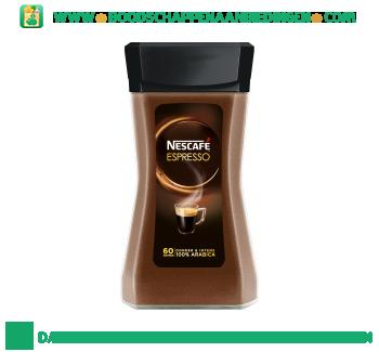 Nescafé Espresso donker & intens aanbieding