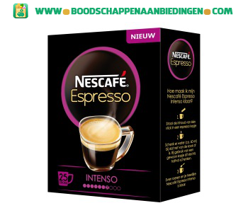 Nescafé Espresso intenso aanbieding