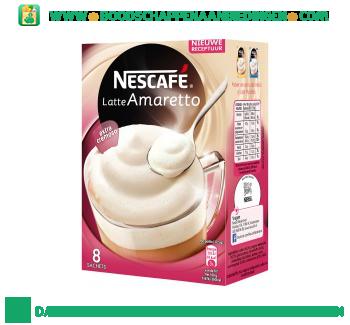 Nescafé Latte amaretto aanbieding